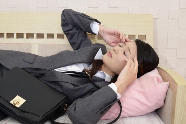 仕事を休みたい女性