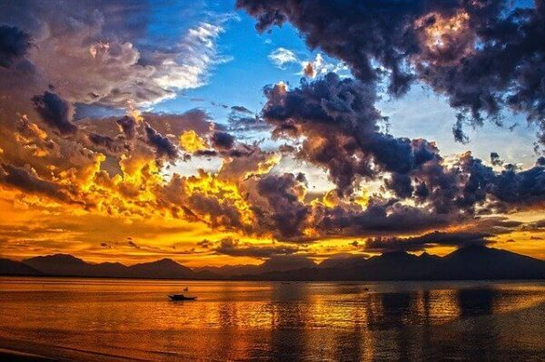 海と空の風景