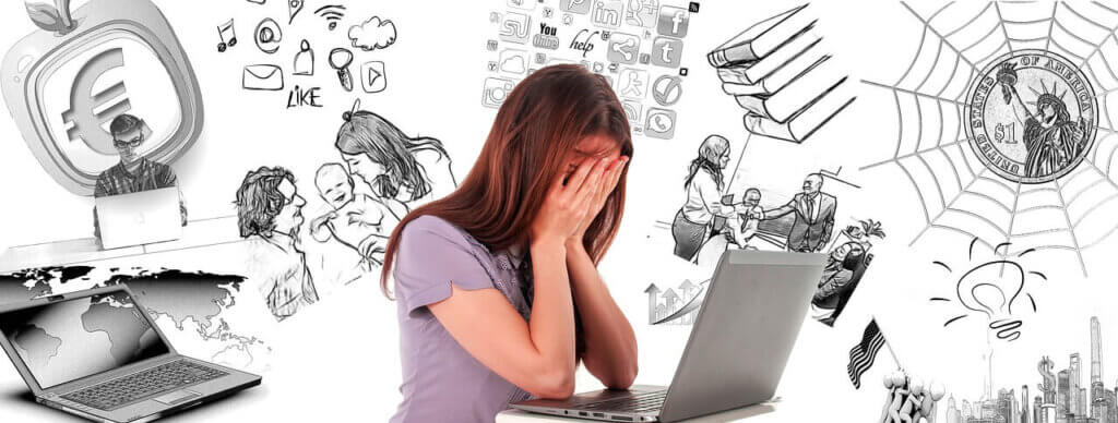 育児やライフプランに悩む女性