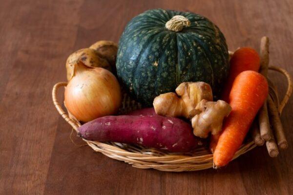 体を温める野菜の画像